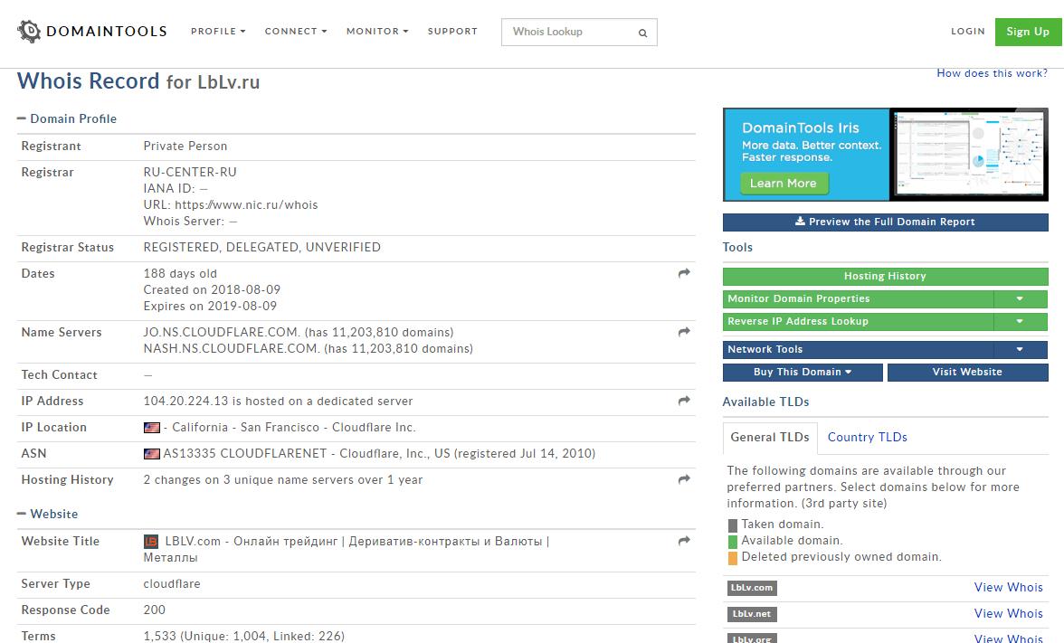 LBLV.com