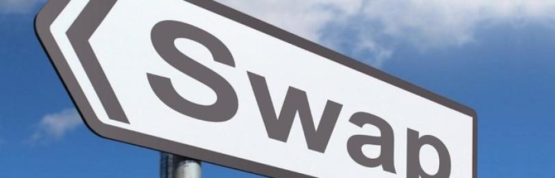 Что такое своп (swap) на рынке? Каким он бывает?