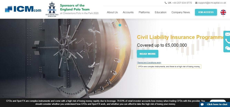 официальный сайт icm capital