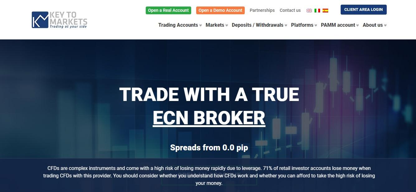 обзор брокера key to markets