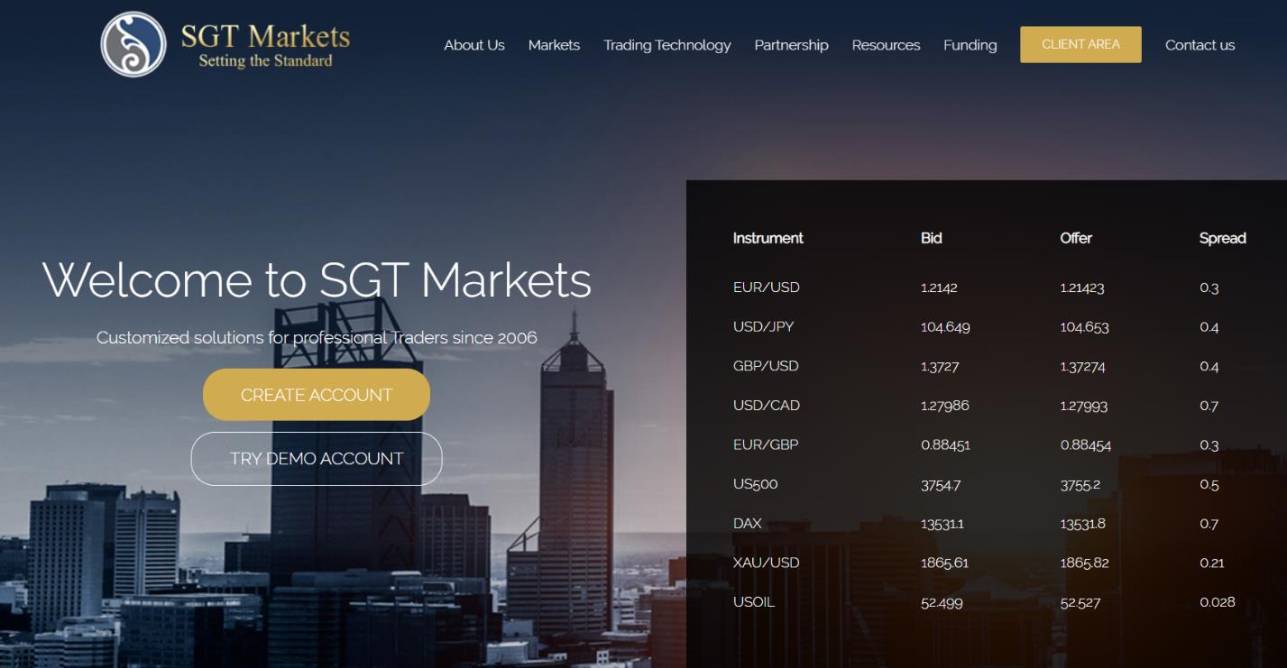 официальный сайт sgt markets