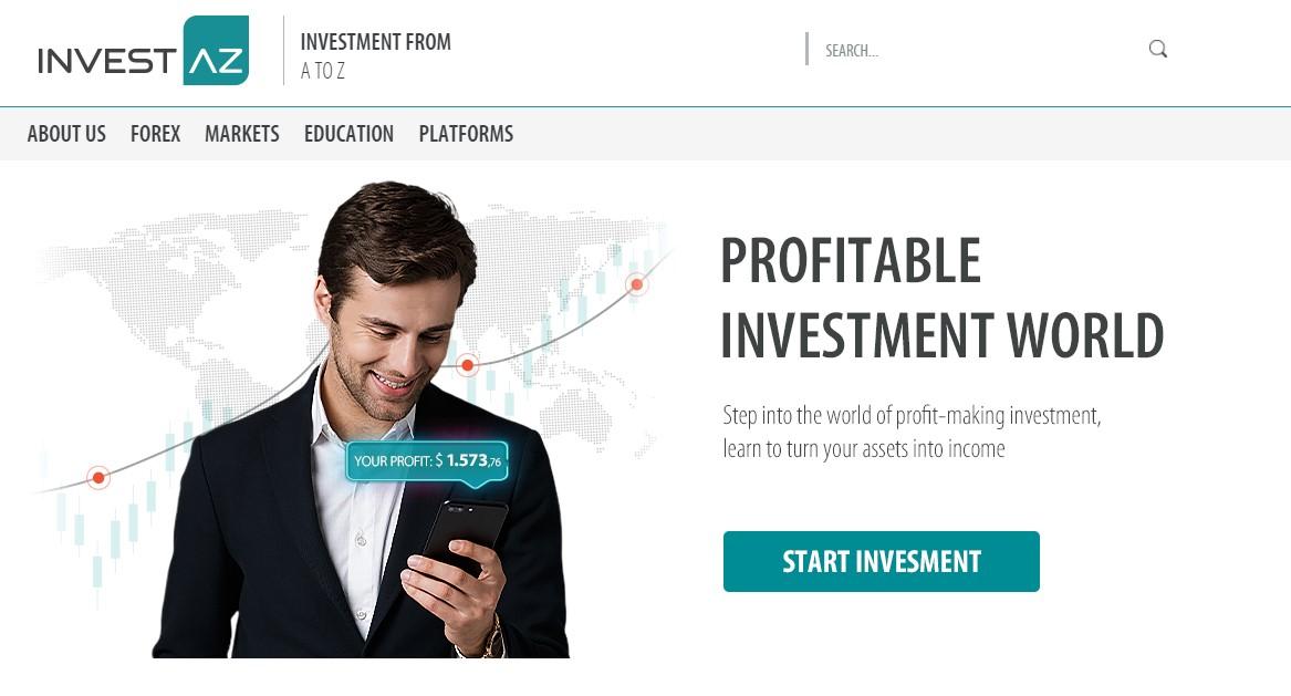 официальный сайт компании investaz