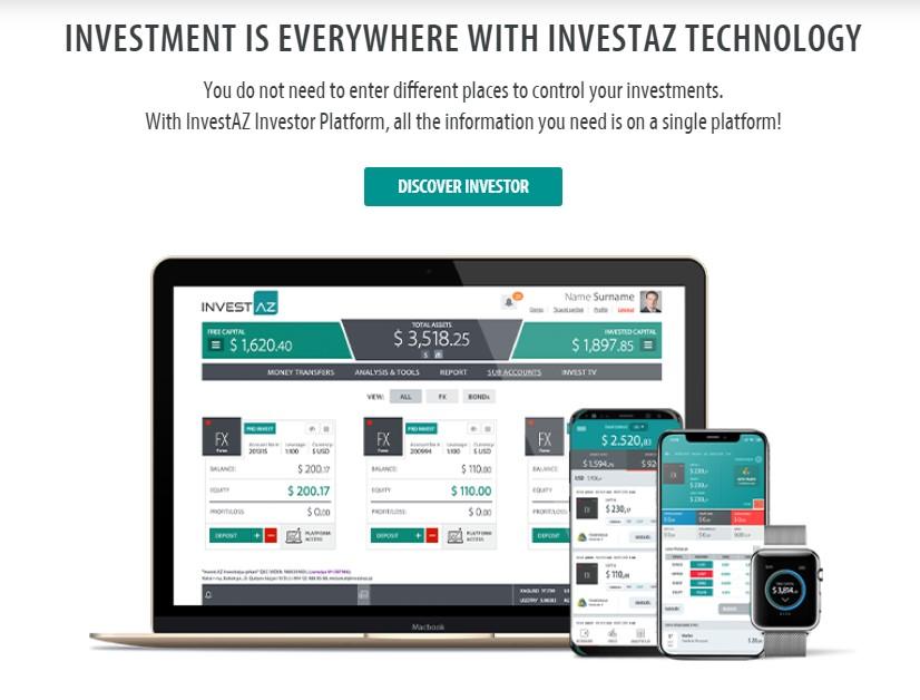 торговые платформы investaz