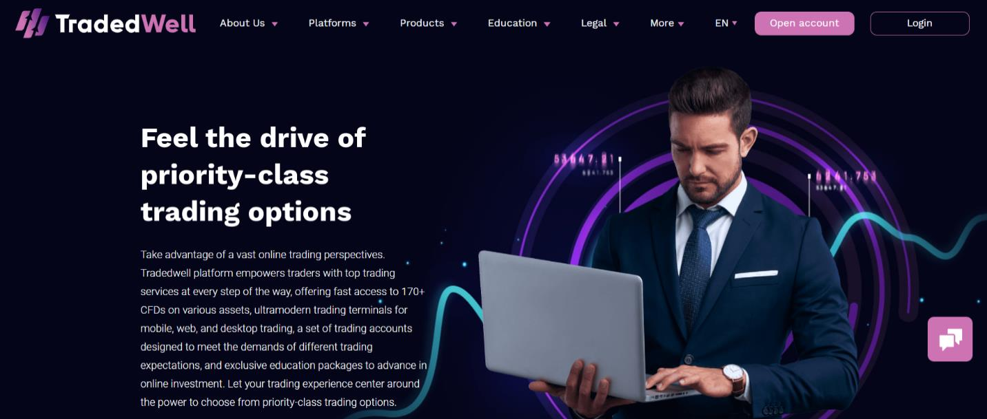 официальный сайт tradedwell