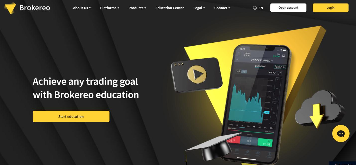 официальный сайт brokereo