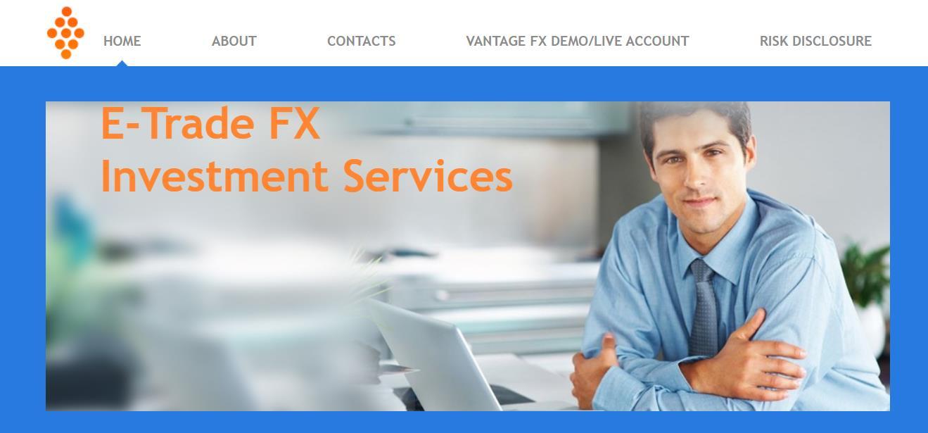 официальный сайт e-trade fx