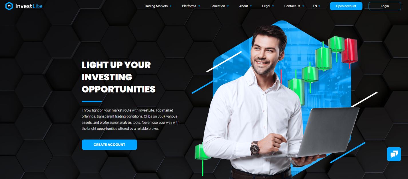 официальный сайт investlite