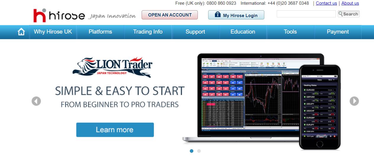 hirose financial официальный сайт