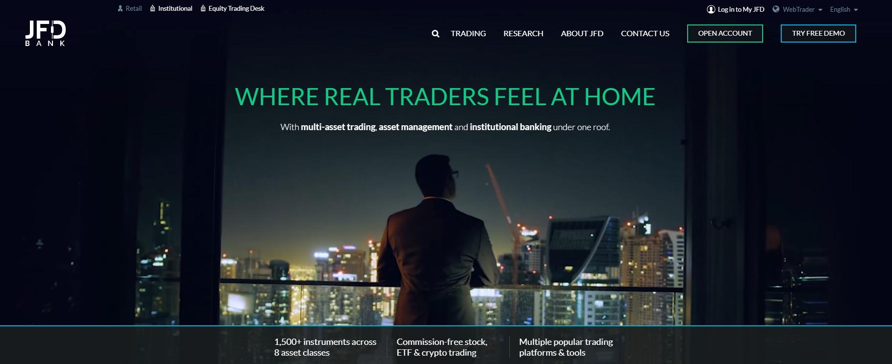 jfd broker обзор компании