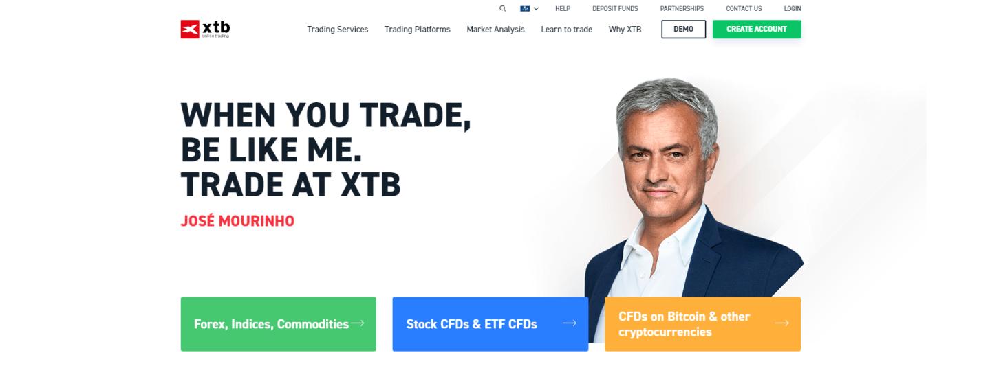 xtb официальный сайт компании