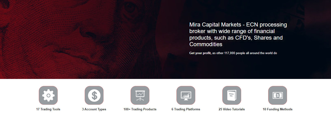торговые условия mira capital markets