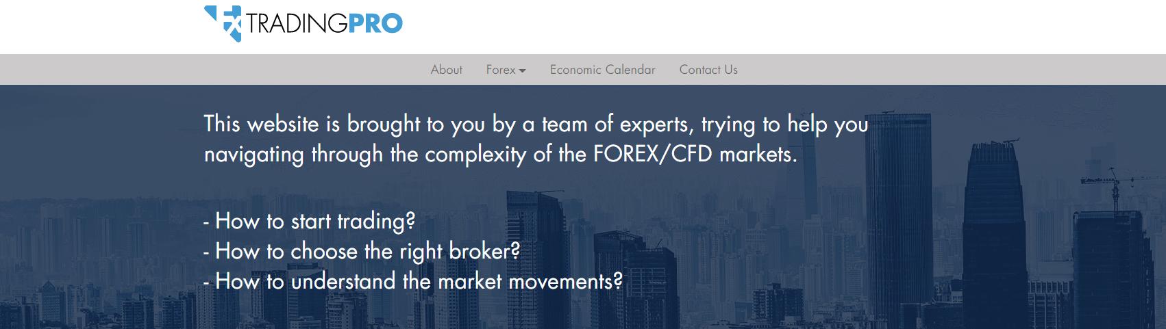 fx trading pro официальный сайт