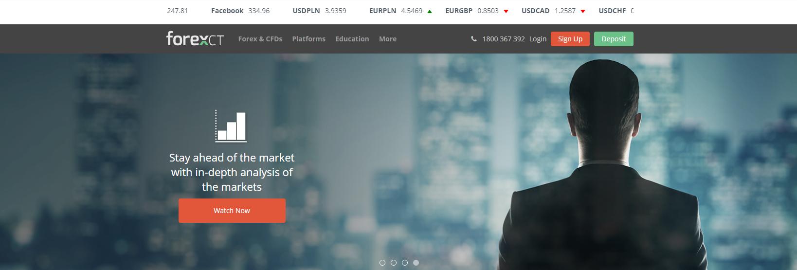 forexct официальный сайт